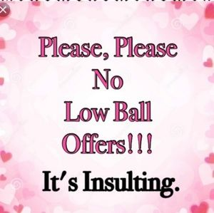 NO low bail offers